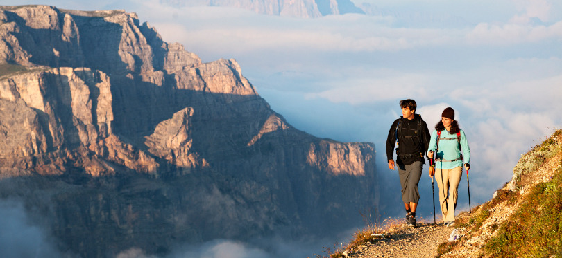 Trekking the Dolomites