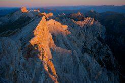 Col de Riciogogn und Monte Sella von Sennes. ©Alfred Erardi