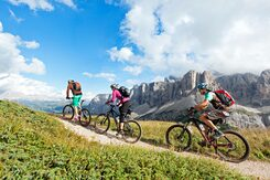 Mountainbike Dolomites