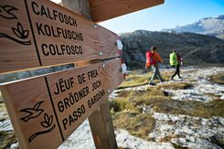 Ladin signs Dolomites