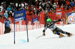 The determination of Ted Ligety at the Gran Risa. ©Werner Pescosta